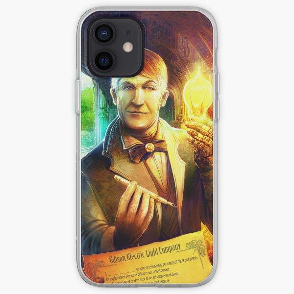Steampunk Edison iPhone Soft Case