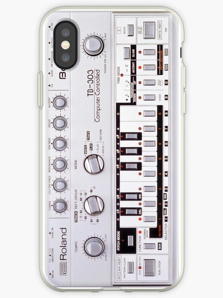 TB 303 music dj iphone-case tb303 by Abricotti