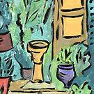 Spanish garden by Abi Latham