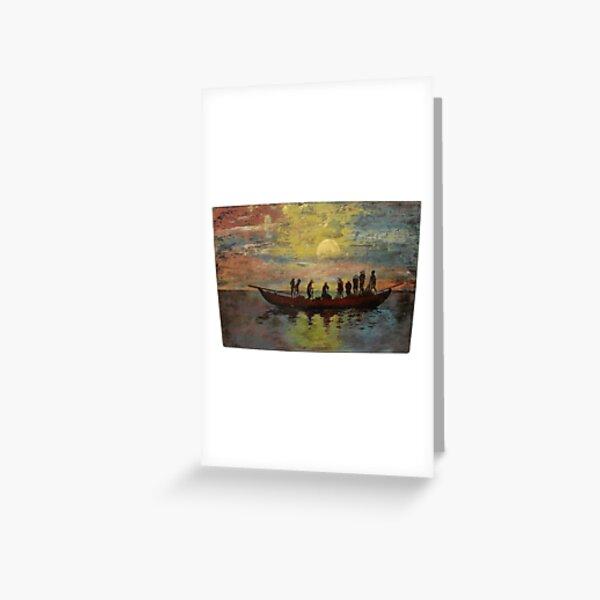 Lacquer Painting, Lacquer Paintings, Lacquer, Painting, Paintings Greeting Card