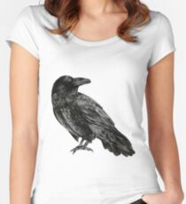 Raven Women's Fitted Scoop T-Shirt