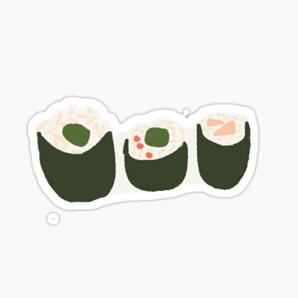 Sushi -- Sticker Option Sticker