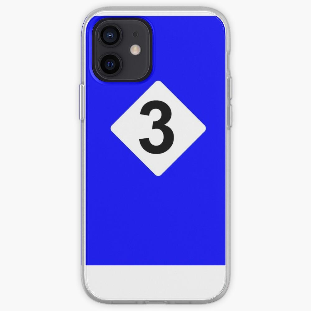 3 RACING BLEU iPhone Case & Cover