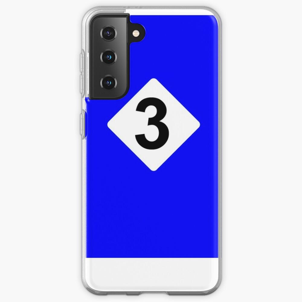 3 RACING BLEU Case & Skin for Samsung Galaxy