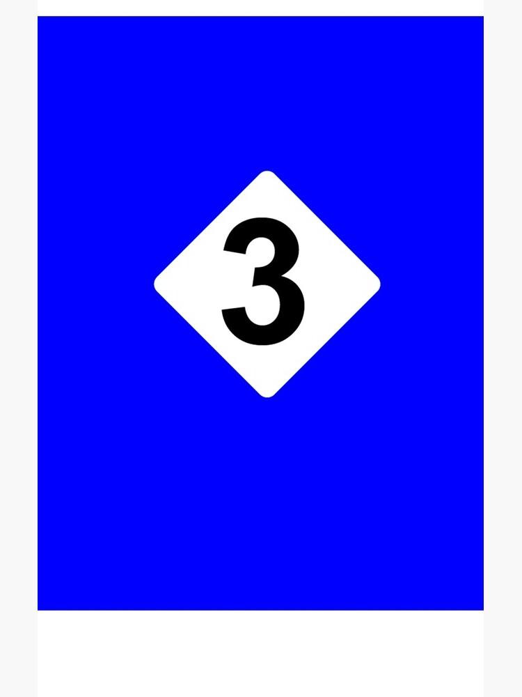 3 RACING BLEU by FormulaT