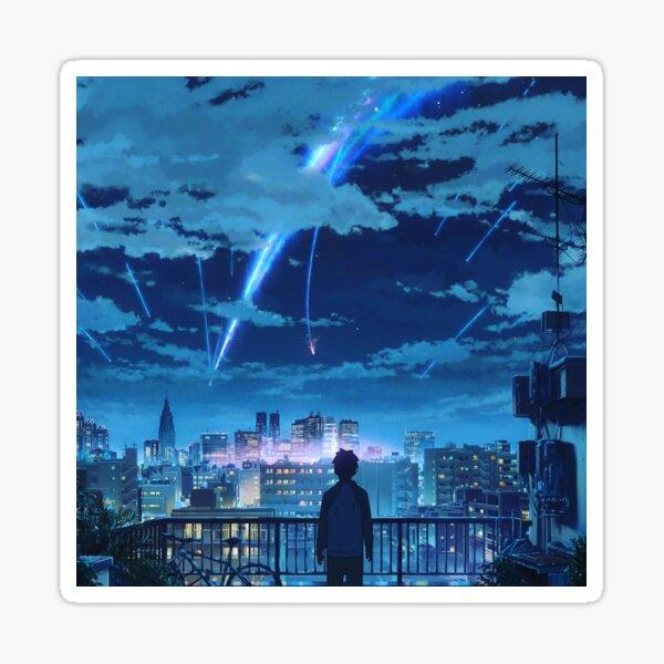kimi no na wa // your name Taki Stars Balcony  Sticker