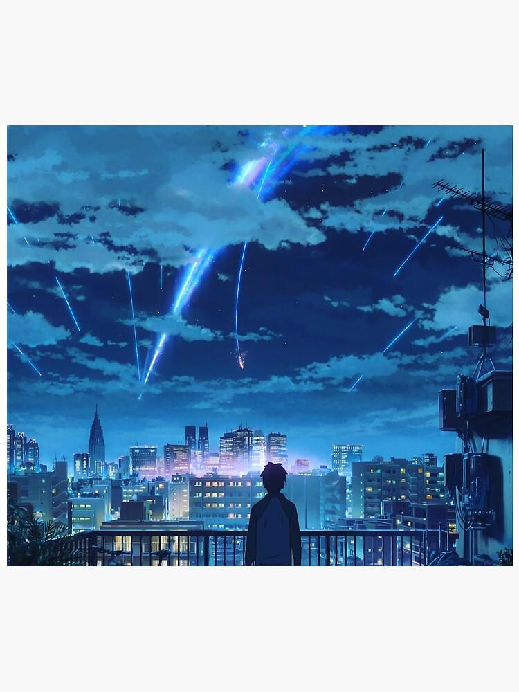 kimi no na wa // your name Taki Stars Balcony  by KINGdjxpeke