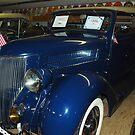 1936 Ford 4 door Delux Roadster by Marjorie Wallace