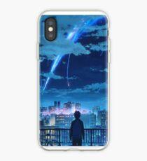 kimi no na wa // your name Taki Stars Balcony  iPhone Case