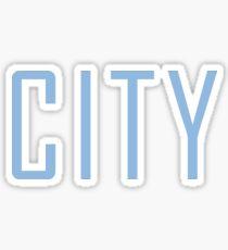 Manchester City Powder Blue Sticker