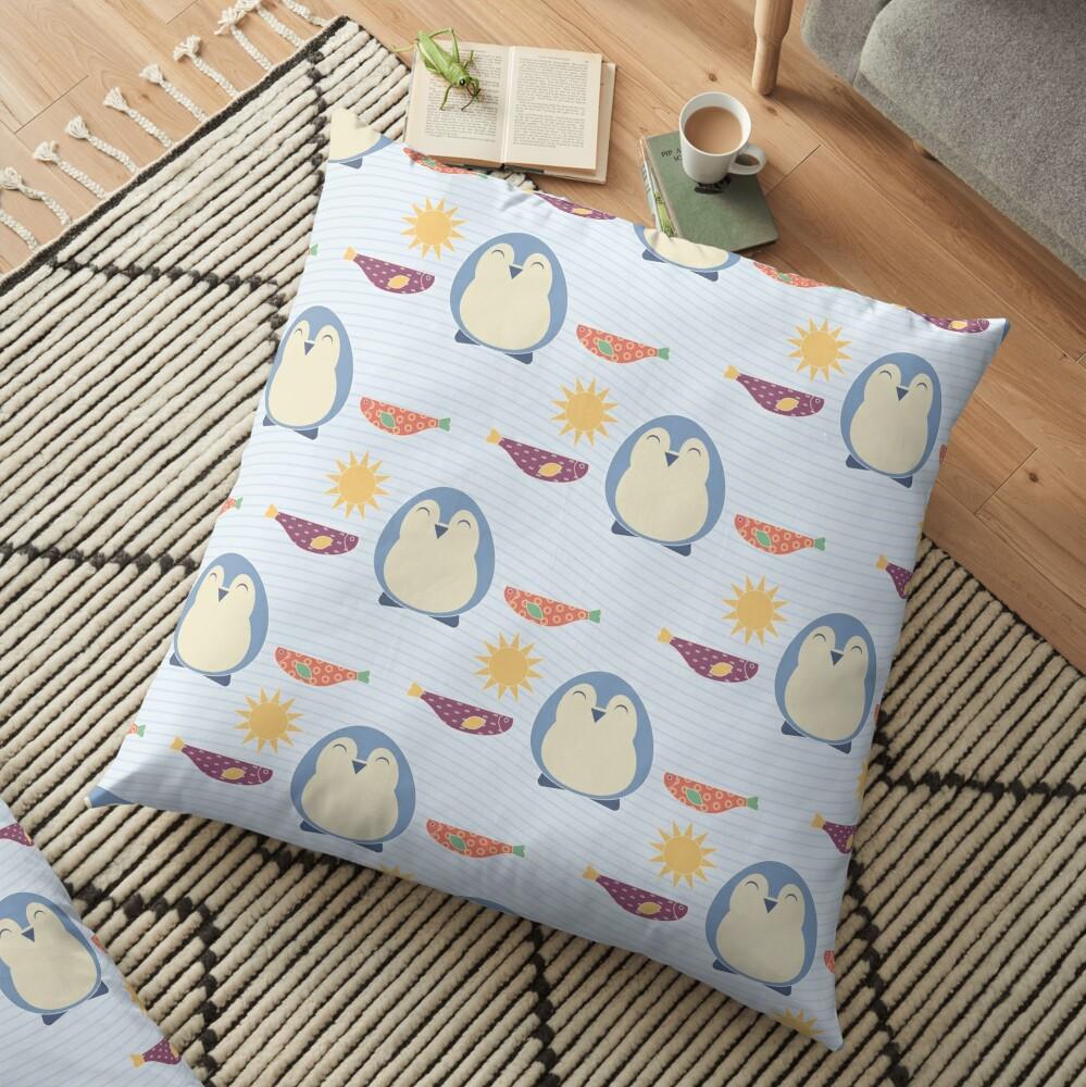 Little Blues Floor Pillow