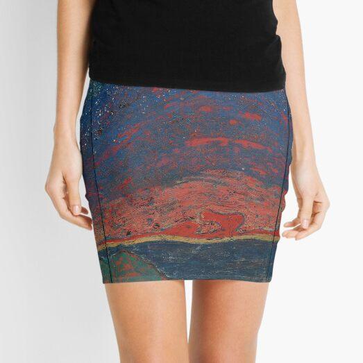 Lacquer Painting, Lacquer Paintings, Lacquer, Painting, Paintings Mini Skirt