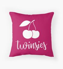 "Valentine's Day ""Twinsies"" Pillow Throw Pillow"