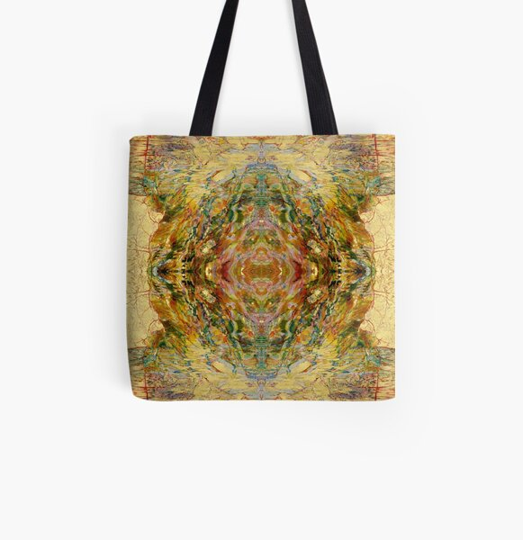 Lacquer Paintings, pattern, design, tracery, weave, decorative design, structure, framework, composition, frame, texture, ornament, decor, garniture, decorate, adorn, garnish, dress, beautify All Over Print Tote Bag