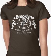 BROOKLYN DOUBLE DUTCH CREW**WORLD TOUR 1994 Womens Fitted T-Shirt