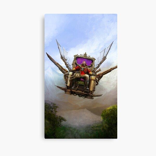 Steampunk Emperor Canvas Print