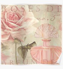 Perfume and Roses I Poster