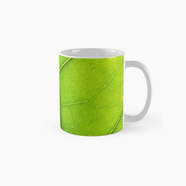 Eco green leaf Classic Mug
