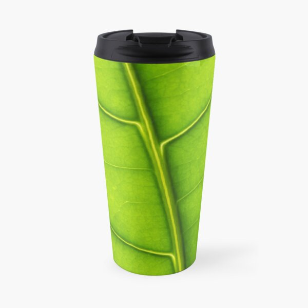 Eco green leaf Travel Mug