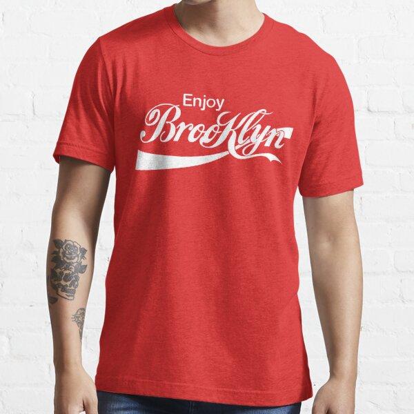 ENJOY BROOKLYN*red/wht Essential T-Shirt