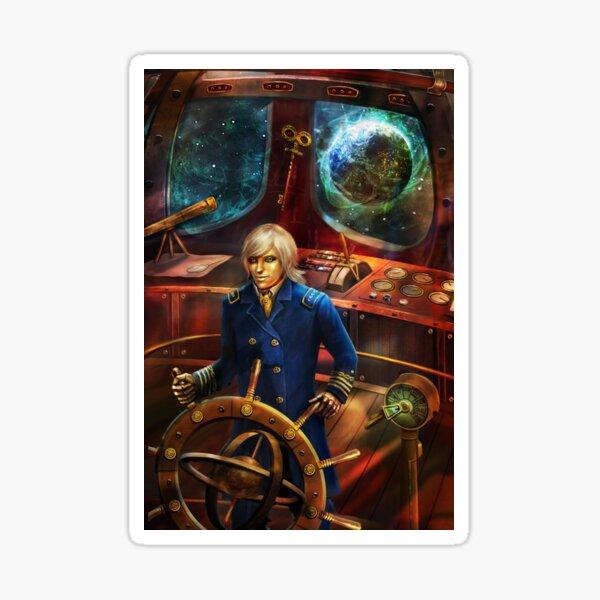 Steampunk Voyage Sticker