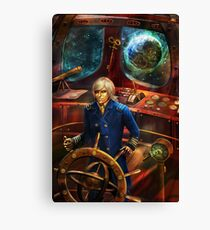Steampunk Voyage Canvas Print