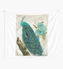 Les Paons I Wall Tapestry