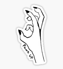 Put Your Paws Up! Sticker