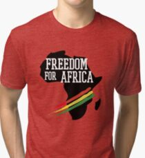 FREEDOM FOR AFRICA Tri-blend T-Shirt
