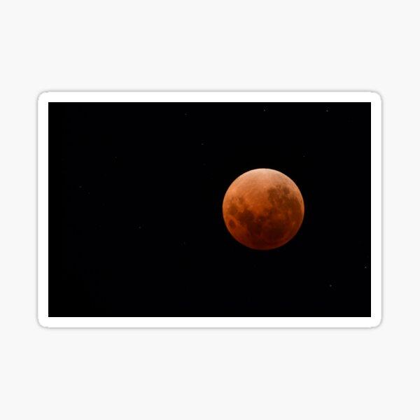 Super Blue Blood Red Moon 2018 Sticker