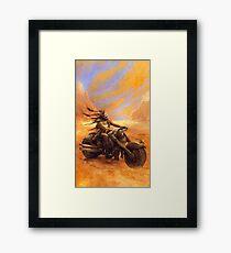 Steampunk Rebel Framed Print