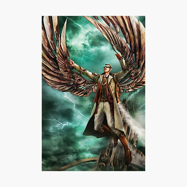 On Copper Wings Photographic Print