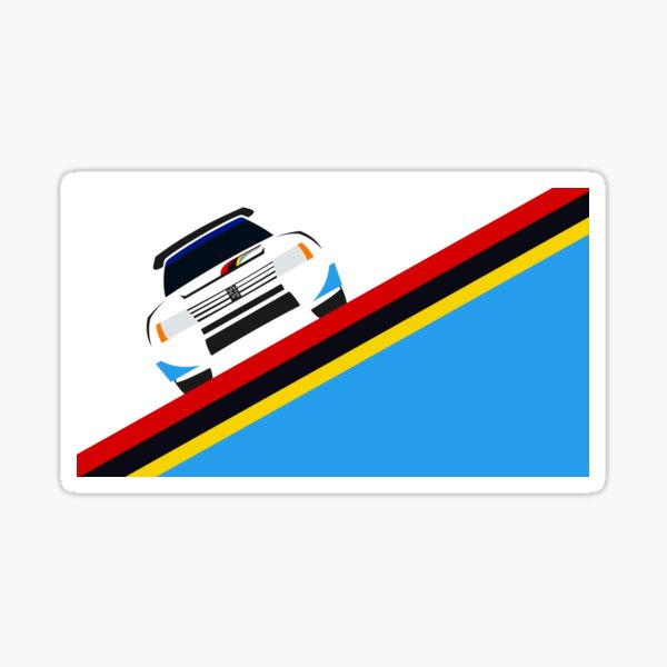 Peugeot 205 TI6 Sticker