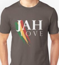 Jah Love ( WHITE ) Unisex T-Shirt
