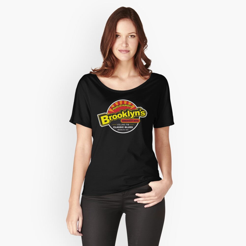 BROOKLYN'S GREATEST HITS Women's Relaxed Fit T-Shirt Front