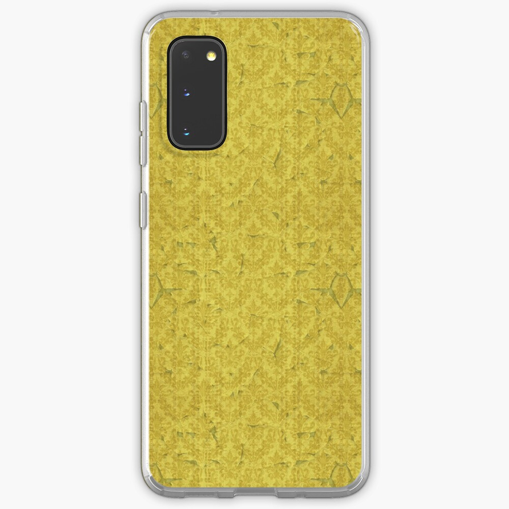 Yellow Wallpaper Case Skin For Samsung Galaxy By Vanitymalady Redbubble