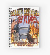 Beauty Survives the Flames  Spiral Notebook