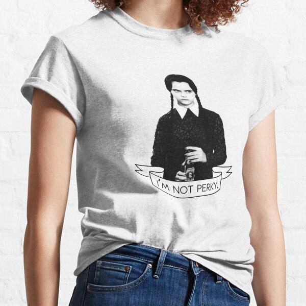 wednesday addams - i'm not perky Classic T-Shirt