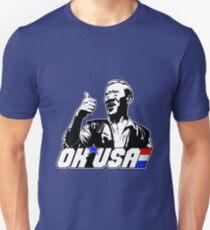 OK, EE. UU. Camiseta ajustada