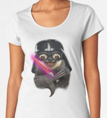 DARTH SLOTH Women's Premium T-Shirt