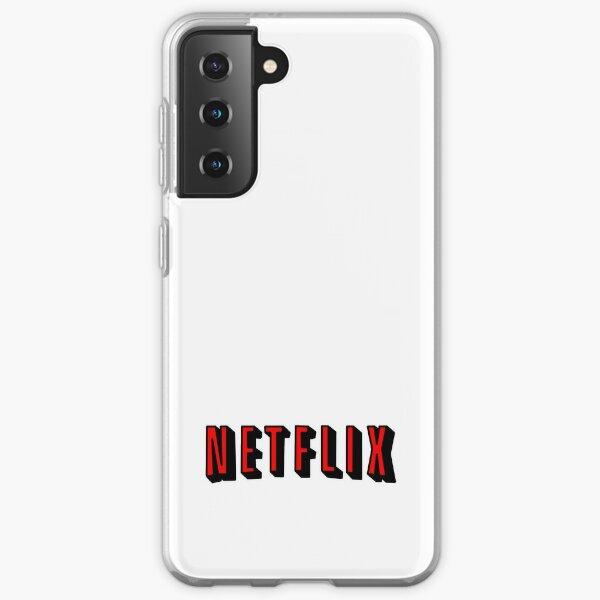 Netflix RED Samsung Galaxy Soft Case