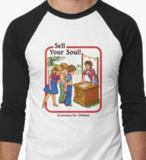 Sell your Soul Baseball ¾ Sleeve T-Shirt