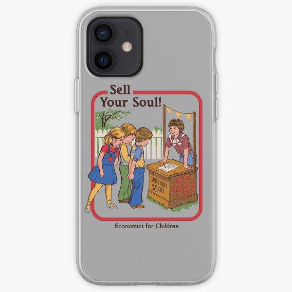 Vendez votre âme Coque souple iPhone