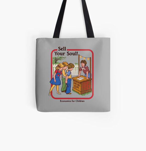 Sell your Soul All Over Print Tote Bag
