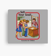 Sell your Soul Canvas Print