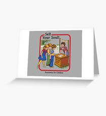Sell greeting cards redbubble sell your soul greeting card m4hsunfo