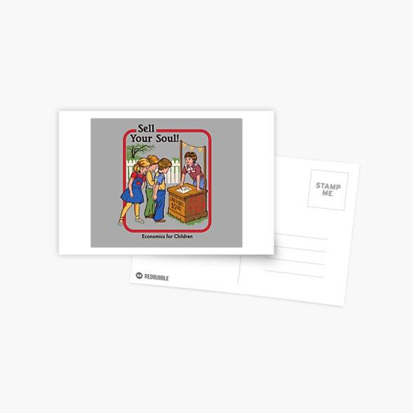 Verkaufe deine Seele Postkarte