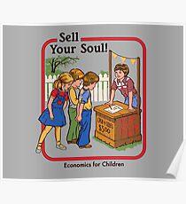 Verkaufe deine Seele Poster