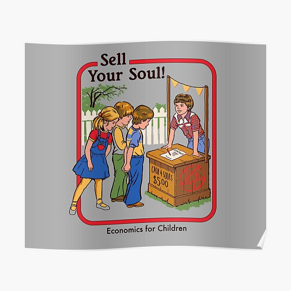 Sell your Soul Poster
