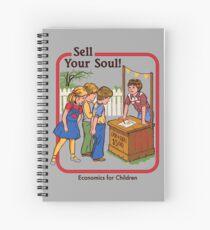 Cuaderno de espiral Vende tu alma